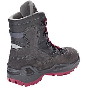 Lowa Rufus III GTX HI Boots Kids anthrazit/beere
